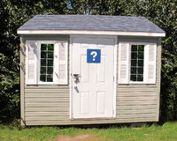 Small shed building Royalty Free Stock Photography