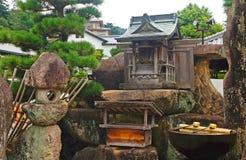 Small Shinto shrine Royalty Free Stock Image