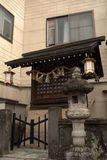 Small shinto shrine, Takayama, Japan Stock Photo