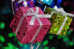 Small shiny gifts Stock Photography
