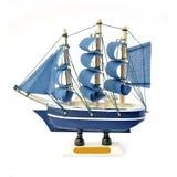 Small ship isolated Stock Photo