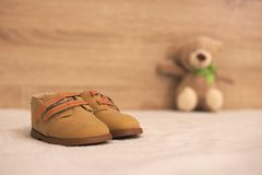 Small shoes Stock Images