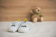 Small shoes Royalty Free Stock Image
