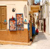 Small shop in Nafplion Royalty Free Stock Photo