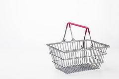 Small shopping basket Stock Photography