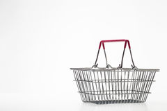 Small shopping basket Royalty Free Stock Images
