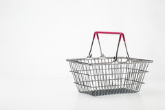 Small shopping basket Royalty Free Stock Photos