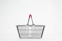 Small shopping basket Stock Images