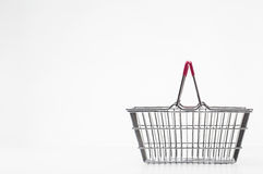 Small shopping basket Royalty Free Stock Photo