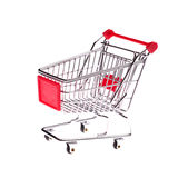 Small shopping cart Stock Photography