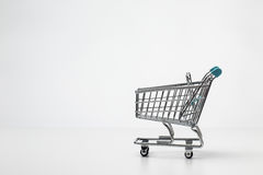 Small shopping trolley Royalty Free Stock Image