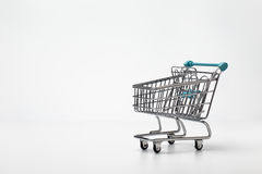 Small shopping trolley Stock Photography