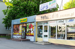 Small shops exterior Stock Photography