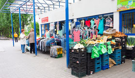 Small shops Royalty Free Stock Image