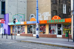 Small shops Stock Photography
