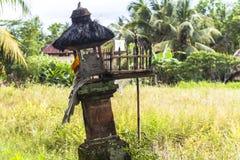 Small shrine on Bali, Indonesia Stock Photography