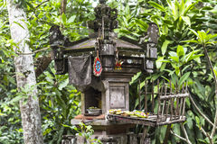 Small shrine on Bali, Indonesia Royalty Free Stock Images