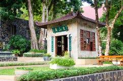 Small shrine Chinese. Royalty Free Stock Photo