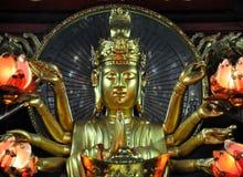 Small shrine devoted to Avalokitesvara Boddhisatva. One Pillar p Stock Photo