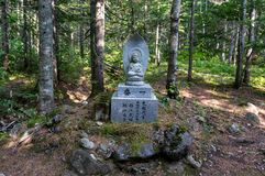 Small shrine in the forest Royalty Free Stock Photos