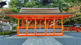 Small shrine at Fushimi Inari Shrine in Kyoto Royalty Free Stock Photos