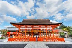 Small shrine at Fushimi Inari Shrine in Kyoto Royalty Free Stock Images