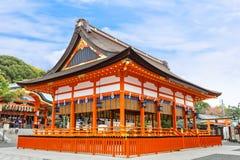 Small shrine at Fushimi Inari Shrine in Kyoto Stock Images