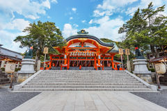 Small shrine at Fushimi Inari-taisha shrine in Kyoto Stock Images