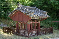 Small shrine in gangneung royalty free stock photo
