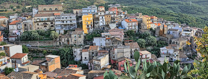 Small Sicilian Town Royalty Free Stock Photography