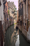Small Side Canal Venice Italy Royalty Free Stock Images