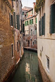 Small Side Canal Venice Italy Royalty Free Stock Image