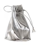 Small silver bag Royalty Free Stock Image