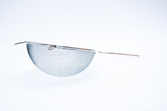 Small silver sieve Royalty Free Stock Photography