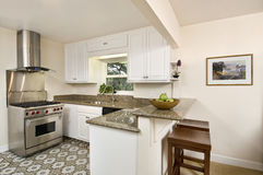 Small simple kitchen Stock Image