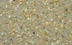 Small size stones floor Stock Image
