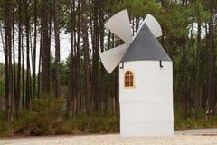 Small sized windmill Royalty Free Stock Photos