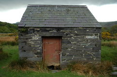 Small slate house Royalty Free Stock Photography