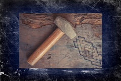 Small Sledge Hammer Royalty Free Stock Image