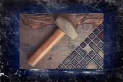 Small Sledge Hammer Royalty Free Stock Photos