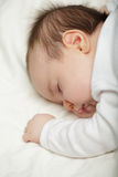 Small sleeping child - bedtime Royalty Free Stock Photography