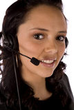 Small smile headset Royalty Free Stock Photos
