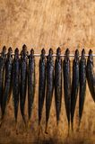 Small smoked fish Stock Photography