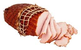 Small Smoked Roast Ham Royalty Free Stock Images
