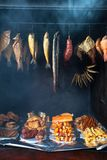 Small smokehouse Stock Photos
