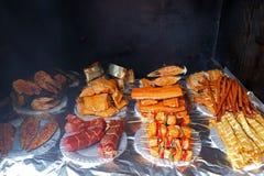Small smokehouse Stock Photos