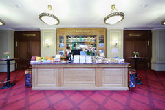 Small snack bar of cinema in GUM Stock Photography