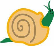 SMALL SNAIL Stock Images