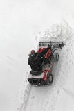 Small snow plough Stock Images