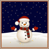 Small Snowman Royalty Free Stock Image